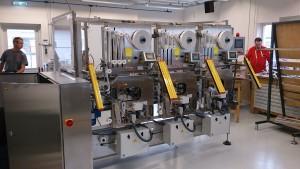 3-kops bandeermachine voor de voedingsmiddelen industrie